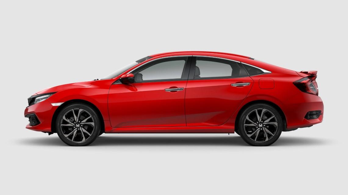 Đánh giá xe Honda Civic 1.5 RS 2019 về thiết kế thân xe.